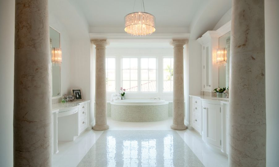 chandelier-posh-lighting-for-bathroom